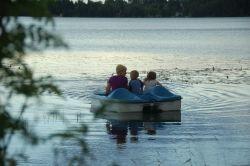 Pédalo et kayak sur place