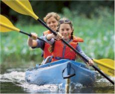 Des kayaks prêtés gratuitement sur place